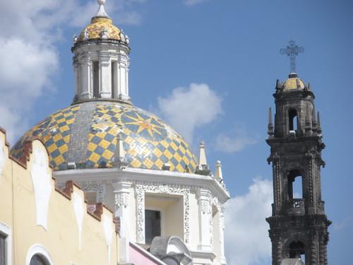 Ciudad De Puebla De Noche