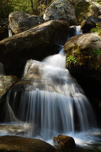 water creek waterfall nc rocks stream northcarolina wnc southmountainsstatepark burkecounty mywinners jacobsforkriver davidhopkinsphotography ncpedia