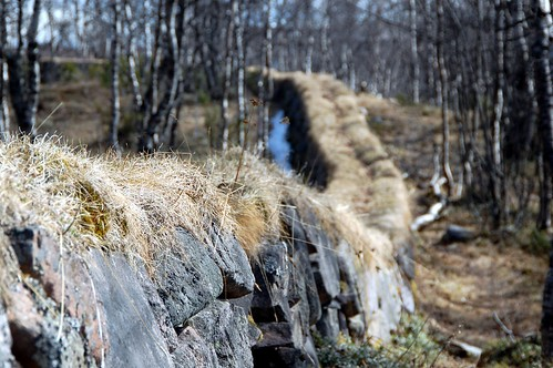 Stone wall near Kiruna Church | by abaransk
