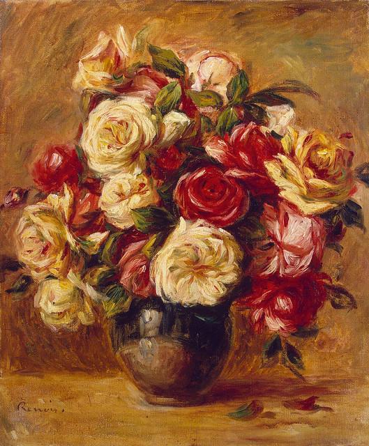 Renoir - Bouquet of roses 1909-13