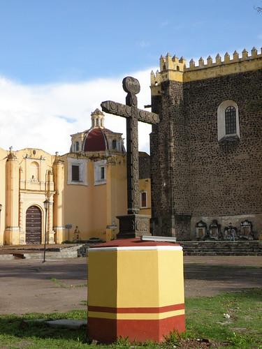 "P9080281 Feria Milenaria de San Pedro Cholula ""Convento de San Gabriel"" por LAE Manuel Vela"