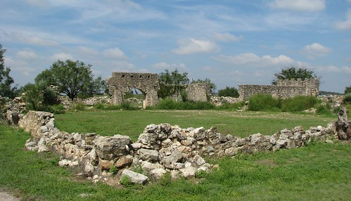 ruins texas fort fortress presidio menard texashistory spanishtexas menardcounty presidiosansaba presidiodesansaba mlhradio presidiosanluisdelasamarillas