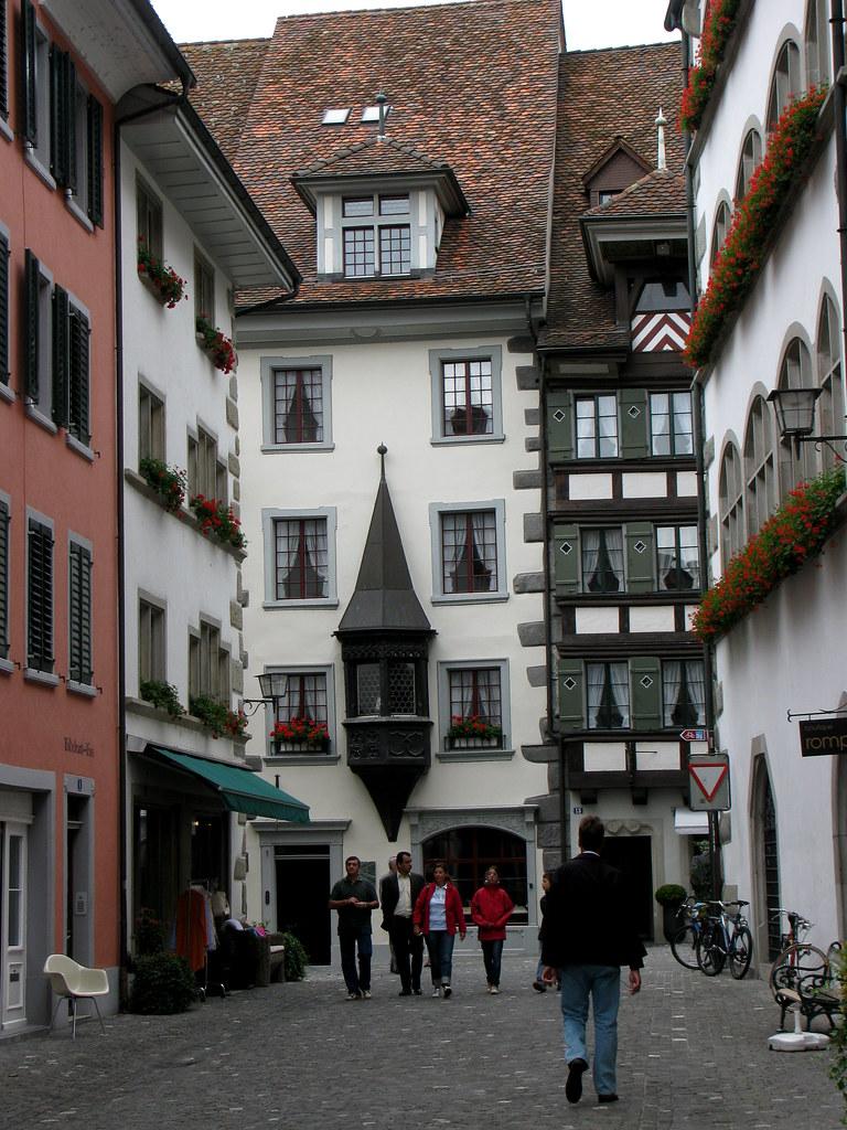 Altstadt in der Stadt Zug im Kanton Zug in der Schweiz | Flickr