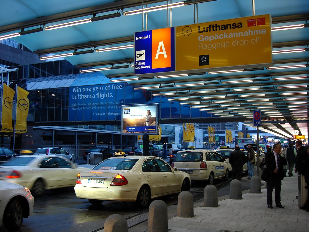 Arrival Flughafen Frankfurt