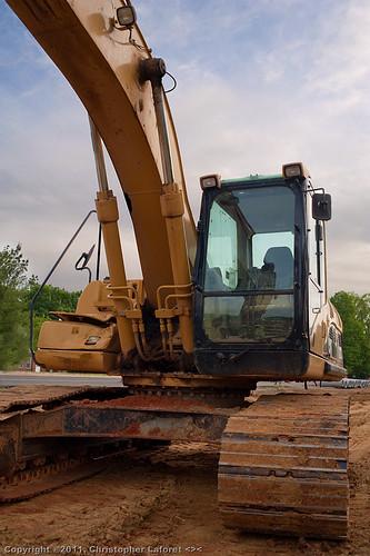 excavator burlingtonnc nikond700 catexcavator mebanestreet