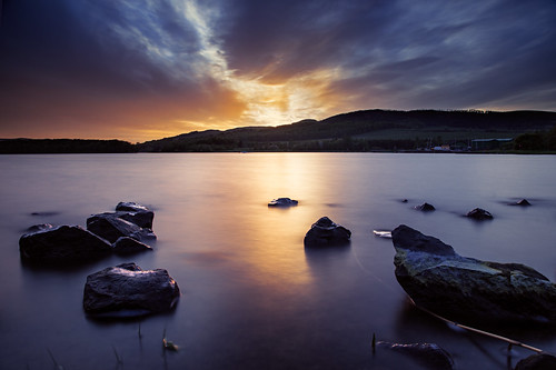 longexposure sunset water canon scotland waterfront fife nd loch waterscape 24105 lochore grantmorris 5d3 grantmorrisphotography