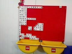 LEGO letterboard