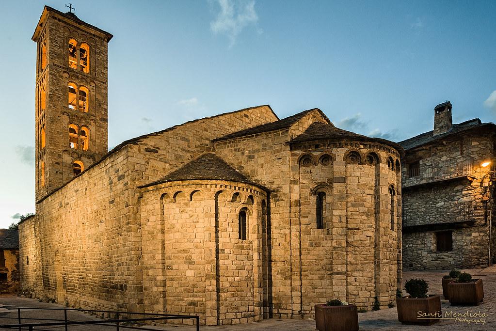 Santa Maria de Taull | La iglesia de Santa María de Taüll, e… | Flickr