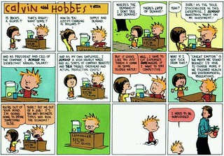 Calvin and Hobbes CEO greed | by The Sun and Doves