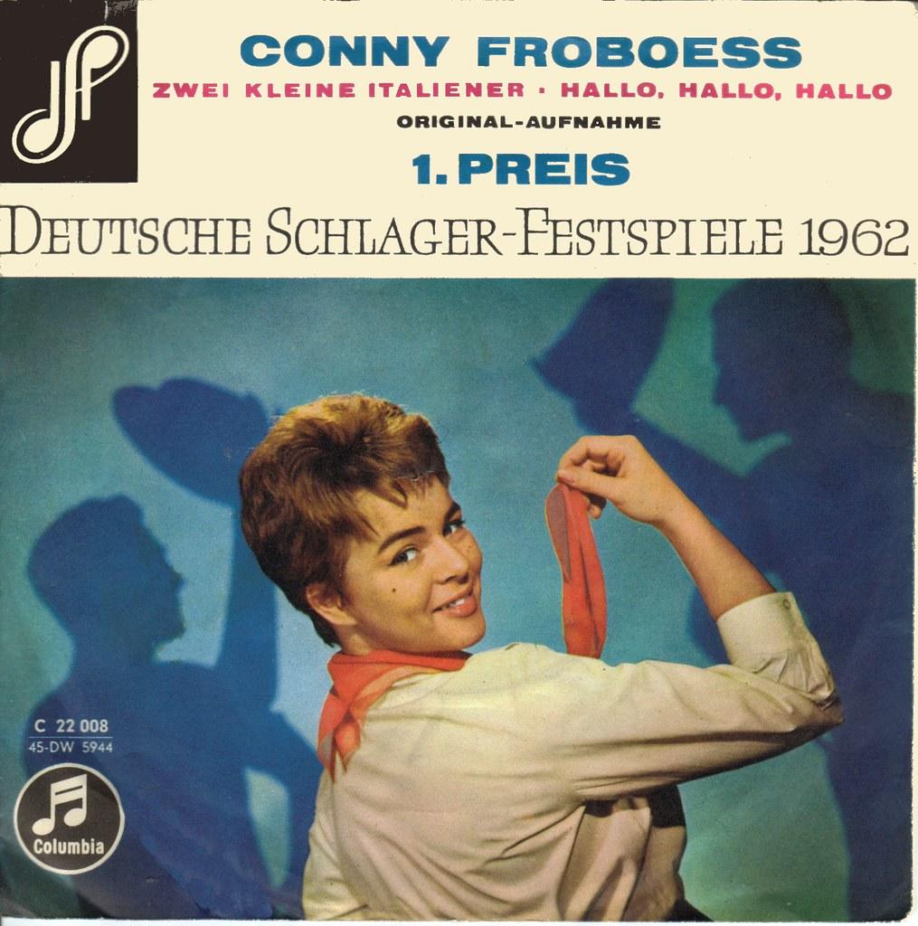 Conny Froboess Bilder froboess, conny - zwei kleine italiener - 1962 | klaus