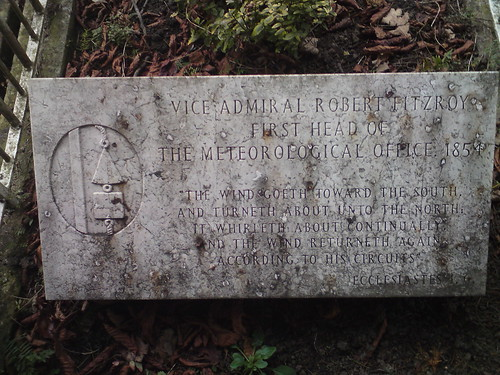 Vice Admiral Robert Fitzroy's Grave | by Zoonie