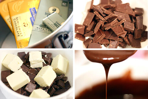 Melting Chocolate | by Bakerella