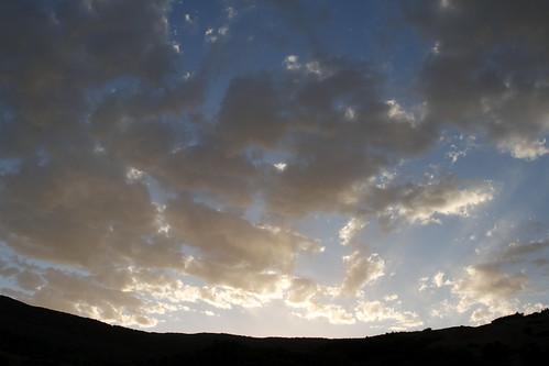 sunset sky usa silhouette clouds sunrise ut orem