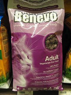 Vegetarian cat food | by Rain Rabbit
