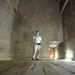 Uvnitř pyramidy v Dahšúru, foto: Luděk Wellner