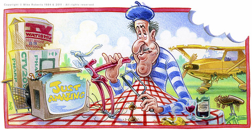 Just Amazing: the Frenchman who ate everything | by mike(toons)