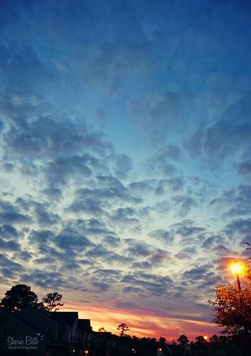 blue sunset sky clouds evening twilight nightfall explored 2009inphotos