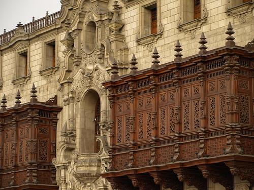 Peru Travel: Archbishop's Palace, Lima   by Latin America For Less