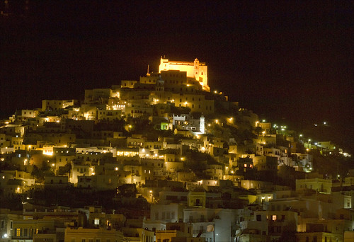 Ano Syros by Night | by John Georgiou