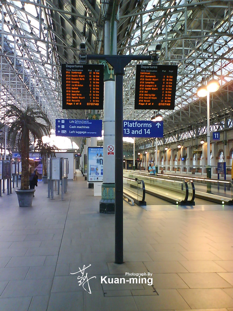 Manchester Piccadilly Station (DSC00593) | 曼徹斯特(Manchester)初