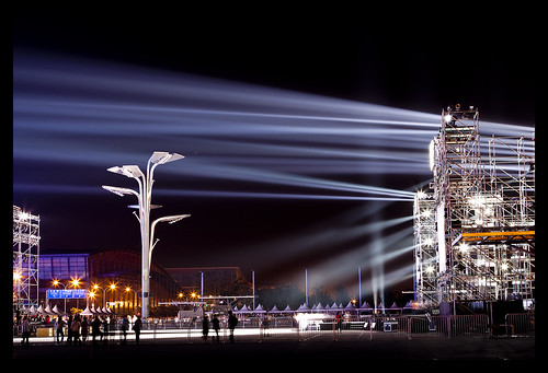 Stage Lights at Olympic Park | by DPerstin