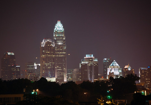 Charlotte Skyline at Night | by James Willamor