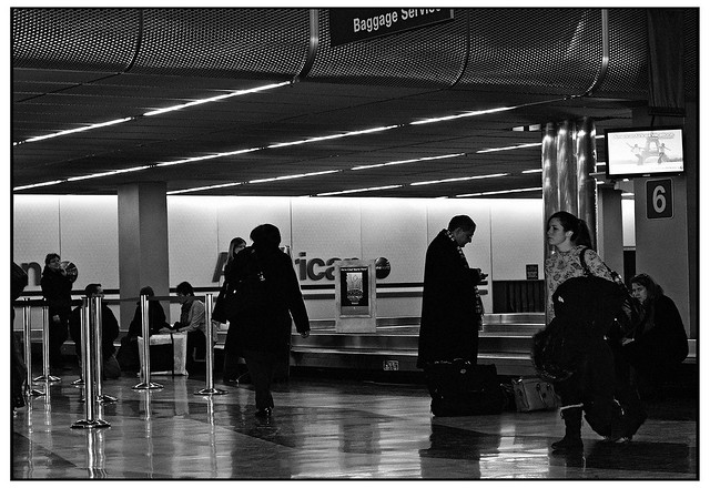 Waiting for Baggage -TRI-X 400
