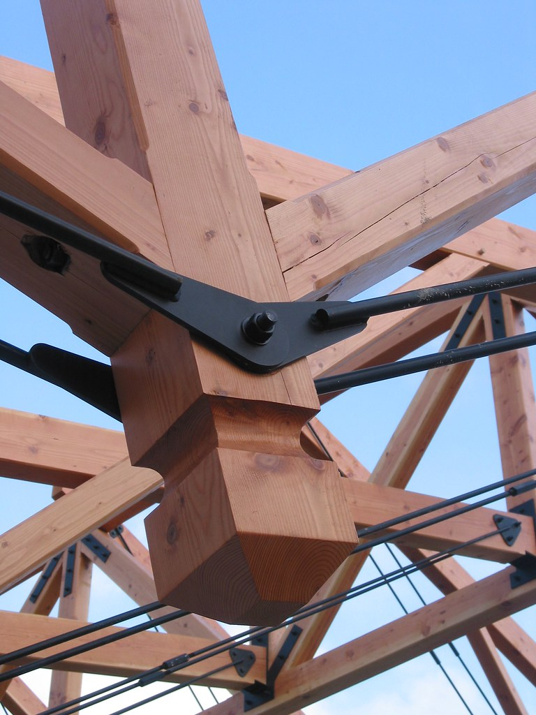 Camp Hayden Dining Hall - Heavy Timber Frame | Timber Truss