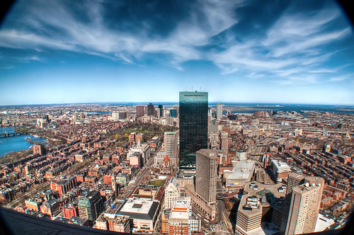 View down on Beacon Hill & Back Bay | by Werner's World