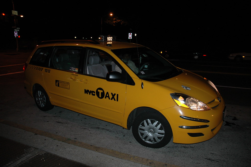 NYC Taxi 1G12, formerly the Cash Cab | Flickr - Photo Sharing!