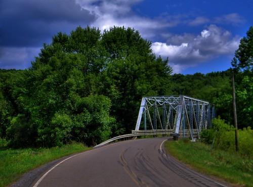 county bridge ohio landscape steel jefferson hdr highdynamicrange photomatix photomatixpro tonemapping