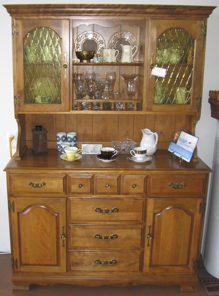 Birch Hutch By La Period Furniture 48 Inches Wide X 18