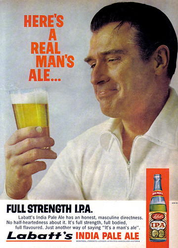 Vintage Ad #934: Here's a Real Man's Ale... | by jbcurio