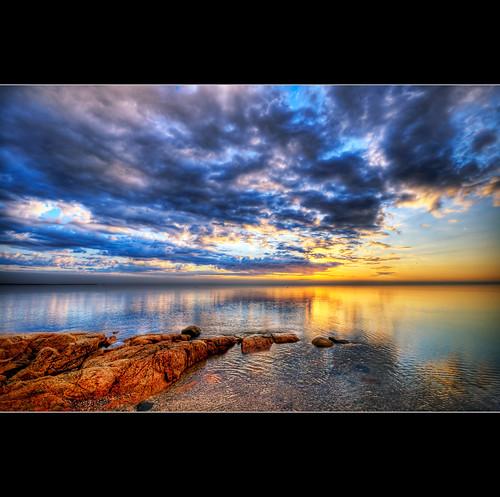 ocean sea clouds sunrise dawn coast nikon rocks maine sigma moe 1020mm brooklin d300 abigfave moe76