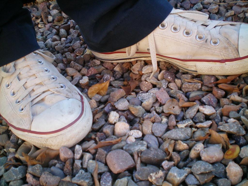 converse blancos 1 | ☮;SusanLopez | Flickr