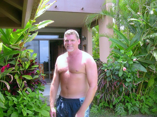 Me today, Geoff Minger at Maui condo