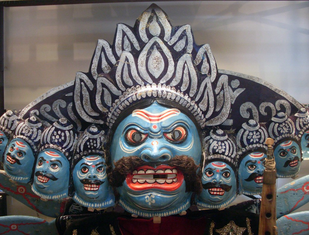 All sizes | The Ravana mask of India | Flickr - Photo Sharing!
