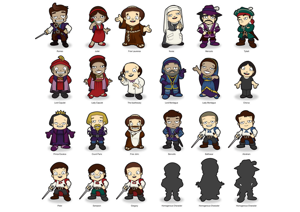 Characters in romeo and juliet