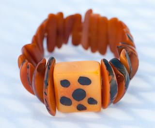 Columbian Jewelry - necklace, 2 bracelets, 2 rings