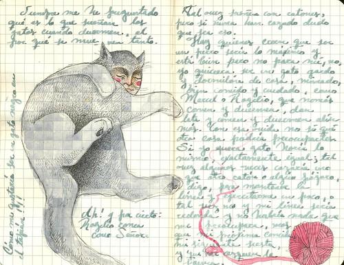 gato flojo - journal14 | by Lady Orlando