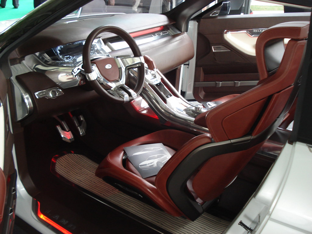 Land Rover LRX Concept Car Interior 2008 This is the mod… Flickr