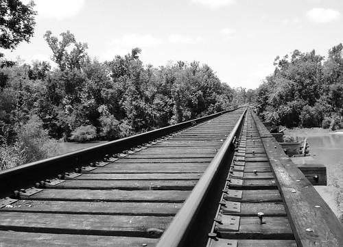 swing railroad railway train bridge neches river evadale texas historic black white blackandwhite blackwhite bw b w movable moving draw drawbridge united states north america