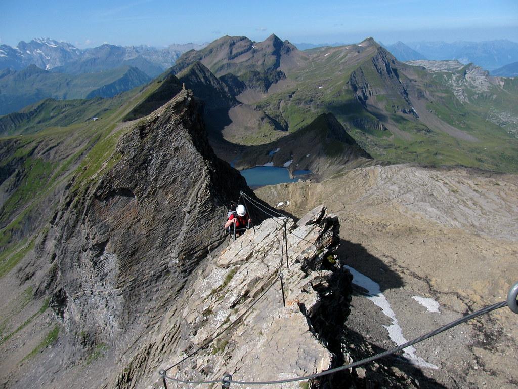 Klettersteig Schweiz : Klettersteig aufs schwarzhorn kanton bern schweiz flickr