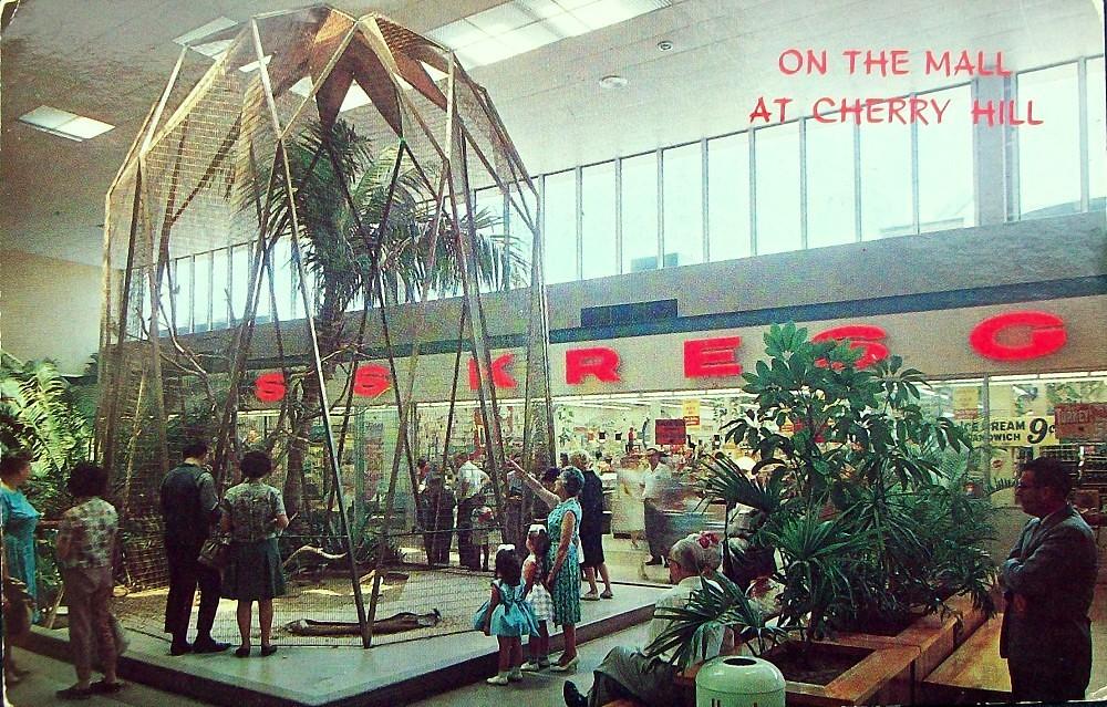 103db72ed4 Cherry Hill Mall, Aviary at Kresge | This was the bird aviar… | Flickr