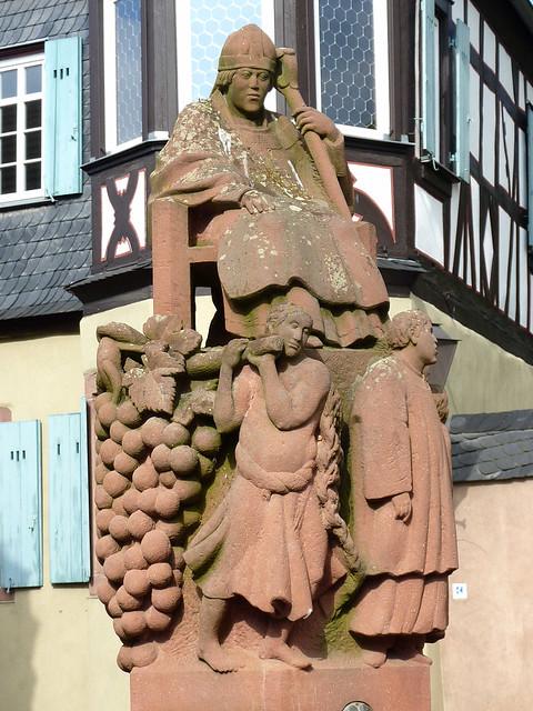 Kiedrich, Brunnen am Marktplatz