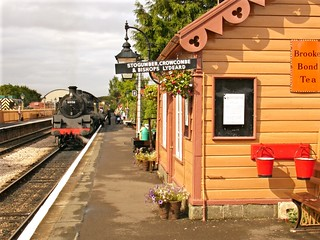 RD1224.  Williton on the West Somerset Railway.