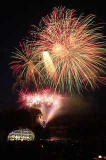 Fantastic Fireworks at West Wycombe Park