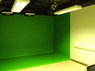 Green screen video production room | by Wesley Fryer