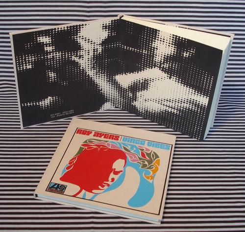 série JAZZ = ROY AYERS... 6 cores!!!!!!! serigrafia pura, como nos velhos tempos do bom jazz... old times! caderno 21x21cm...