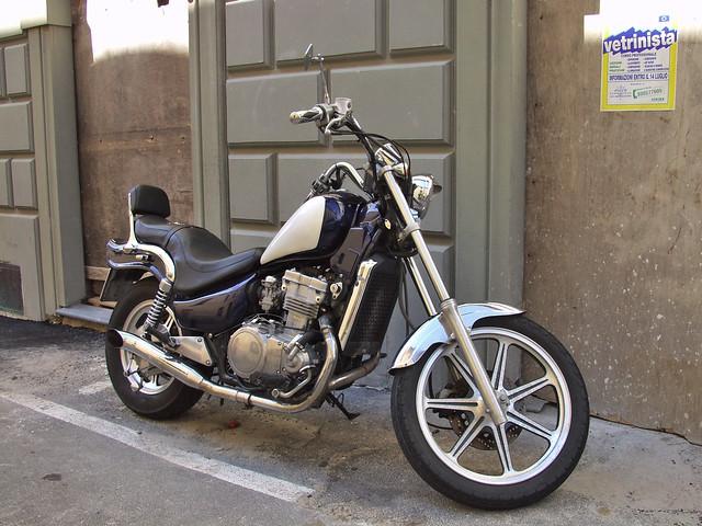Bike mit Parkplatz